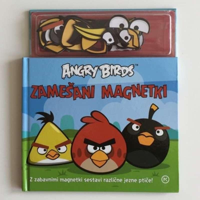 Knjiga Angry birds, z magnetki